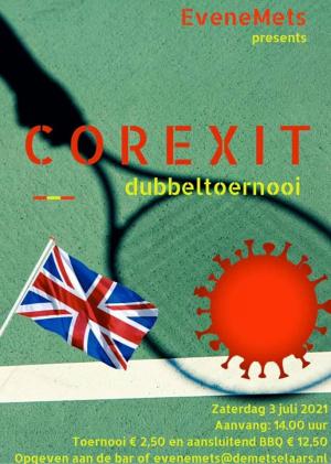Corexit toernooi